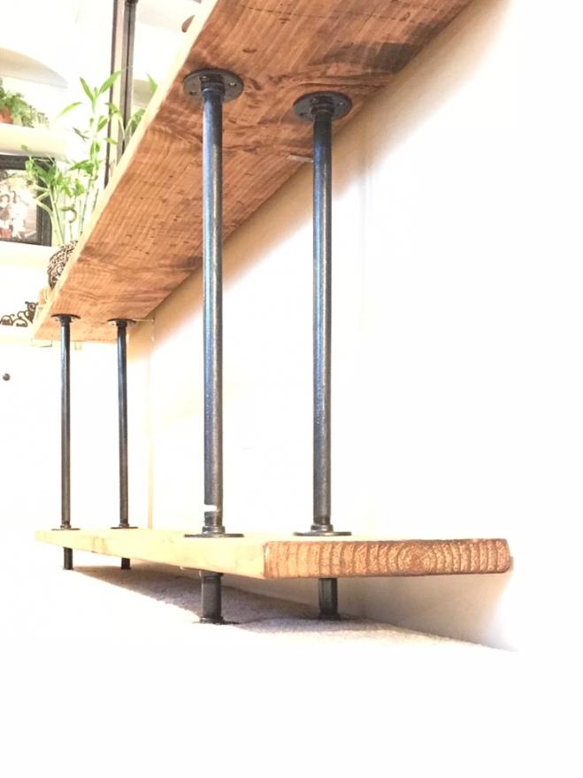 DIY Industrial Farmhouse Table EASY